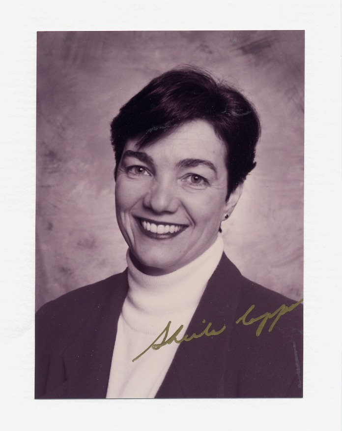 Canada - Deputy Prime Minister SHEILA COPPS Hand Signed Photo 1990s