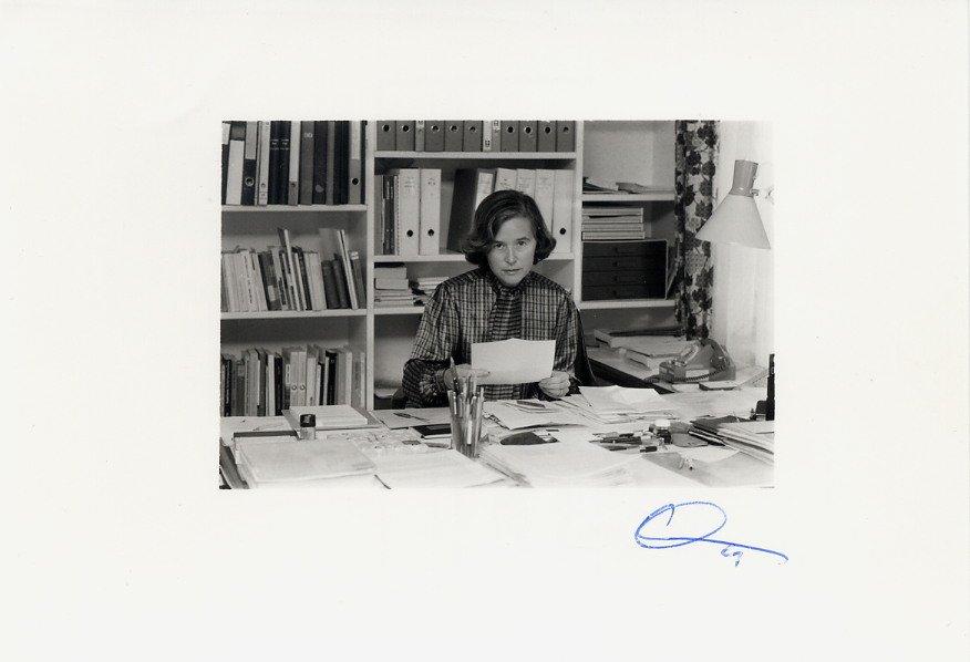 Switzerland - Politician & 1st Woman to Federal Council ELISABETH KOPP SP 1984