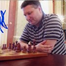 Russian Chess Grandmaster MAXIM NOVIK Hand Signed Photo 4x6