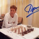 Russian Chess Grandmaster PAVEL TREGUBOV Hand Signed Photo 4x6