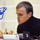 Russian Chess Grandmaster ALEKSANDR RAKHMANOV Hand Signed Photo 4x6