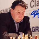 Germany - Chess Grandmaster DANIEL FRIDMAN Hand Signed Photo 4x6