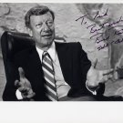 1971-2001 US Senator from Delaware WILLIAM V ROTH, Jr Hand Signed Photo 8x10