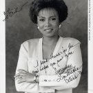 CNN News Anchor LYN VAUGHN Hand Signed Photo 8x10 from 1995