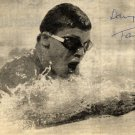 1988-92 Four-Time Swimming Champion & WR TAMAS DARNYI Autograph 1988