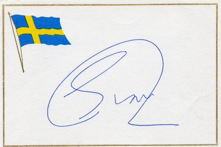 Netherlands -  Politician 1983-94 Mayor of Amsterdam ED van THIJN Autographed Card 1985