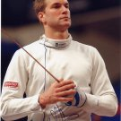 2016 Rio Olympics Fencing Epee Semi-Finalist BENJAMIN STEFFEN  Signed Photo 4x6
