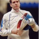 2016 Rio Olympics Fencing Gold GAUTHIER GRUMIER Hand Signed Photo 4x6