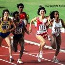 (R) 1992 Athletics 4x400m Relay/800m LILIYA NURUTDINOVA  Autograph 1990s