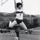 (R) 1984 Athletics Long Jump Bronze SUSAN HEARNSHAW Hand Signed Photo 1980s