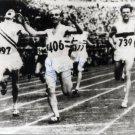 (T) 1952 Olympics Athletics 1500m Gold JOSY BARTHEL Hand Signed Photo 1980s