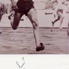 (T) Athletics 1950 ECh 4x100m Silver YVES CAMUS Autograph 1990