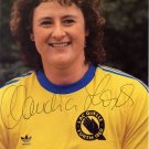 (T) 1984 Athletics Shot Put Gold CLAUDIA LOSCH Hand Signed Photo 4x6