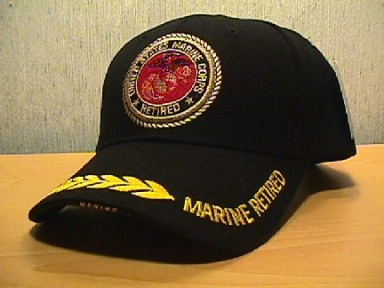 MARINE RETIRED HAT #1