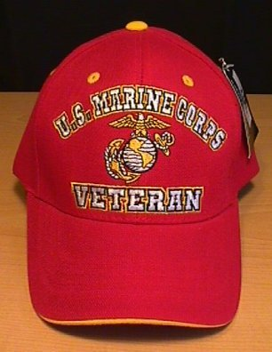 MARINE CORPS VETERAN (RED) HAT