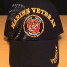 MARINE CORPS VETERAN BLACK SHADOW CAP