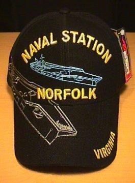 NAVAL STATION NORFOLK VIRGINIA CAP