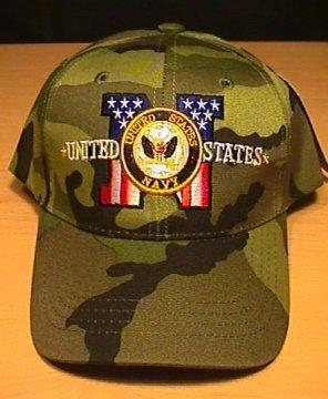 NAVY PATRIOTIC CAMOUFLAGE CAP