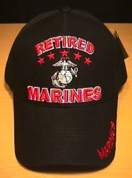 RETIRED MARINES HAT #3