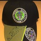 ARMY DOUBLE LOGO CAP W/ 2-TONE BILL #1