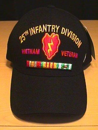 25TH INFANTRY DIVISION IN VIETNAM CAP