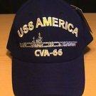 USS AMERICA CVA-66 CAP