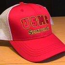 USMC SEMPER FI RED SUMMER MESHBACK CAP