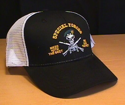 """SPECIAL FORCES """"MESS WITH THE BEST"""" SUMMER CAP"""