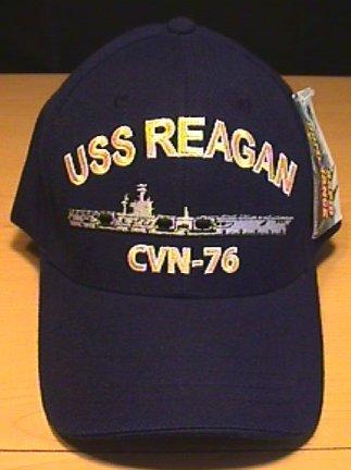 USS RONALD REAGAN CAP CVN-76
