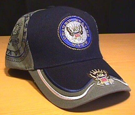 NAVY DOUBLE SHADOW CAP