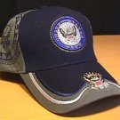 NAVY DOUBLE SHADOW CAP