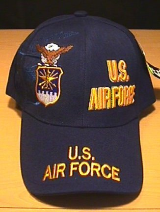 AIR FORCE SPLIT CROWN LOGO - NAVY