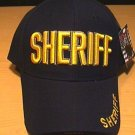 SHERIFF CAP W/3D TEXT - NAVY