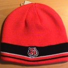 CINCINNATI BENGALS BEANIE - ORANGE W/STRIPES