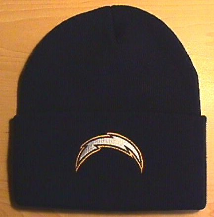 SAN DIEGO CHARGERS WINTER KNIT - NAVY