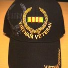 VIETNAM VETERAN CAP WITH WREATH LOGO