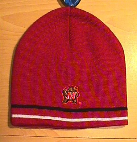 MARYLAND TERPS BEANIE - RED