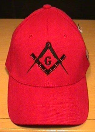 MASON #2 LOGO FLEXFIT CAP - RED