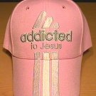 ADDICTED TO JESUS CAP - PINK