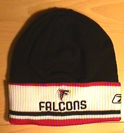 ATLANTA FALCONS WINTER KNIT W/WHITE CUFF