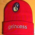 PRINCESS WINTER KNIT CAP - RED