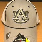 AUBURN TIGERS FLEXFIT CAP - GRAY AND WHITE