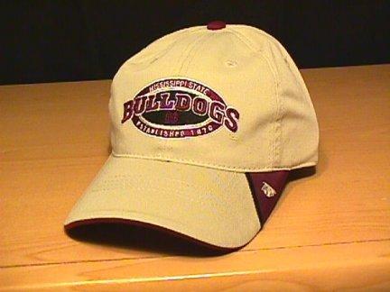 MISSISSIPPI STATE BULLDOGS CAP - KHAKI