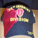 25th INFANTRY DIVISION HAT - BLACK