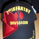 7TH INFANTRY DIVISION CAP - BLACK