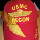 MARINE RECON CAP W/SHADOW - RED