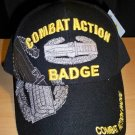 ARMY COMBAT ACTION BADGE CAP - BLACK