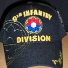 9TH INFANTRY DIVISION CAP - BLACK