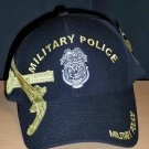 MILITARY POLICE HAT #2 W/YELLOW GOLD SHADOW EMBROIDERY