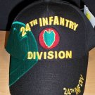 24th INFANTRY DIVISION HAT - BLACK